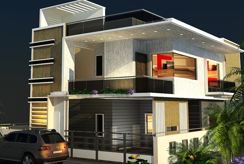 The Advantages Of Contemporary Elevations Mamre Oaks 3d