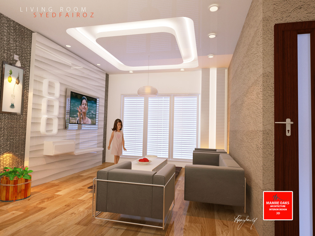 Interior design mamre oaks 3d architectural design and for Living room designs bangalore