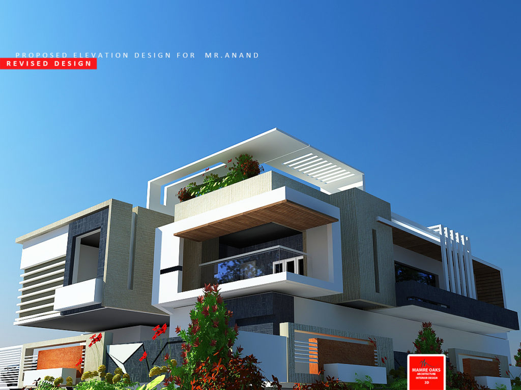 House Front Elevation Designs In Coimbatore : Mamre oaks d architectural design and elevation services